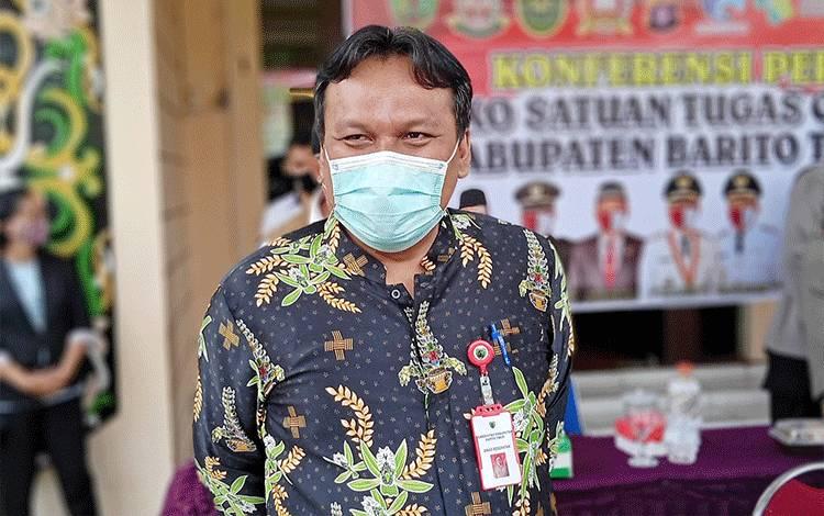 Ketua Bidang Penanganan Kesehatan Satgas Covid-19 Barito Timur, Jimmi WS Hutagalung.