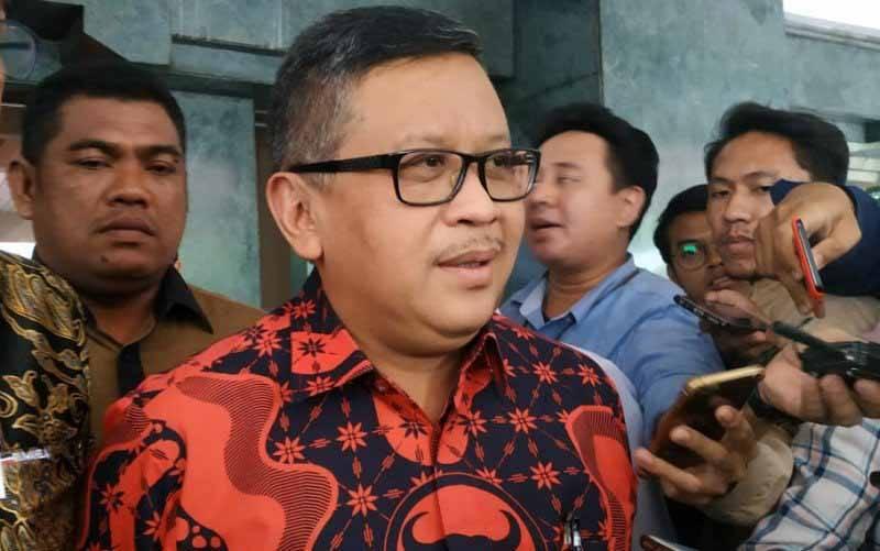 Sekretaris Jenderal DPP PDI Perjuangan, Hasto Kristiyanto. (foto : ANTARA/Boyke Watra)