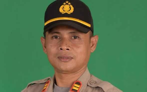 Kapolsek Tewah, Iptu Nanang Mauludin.