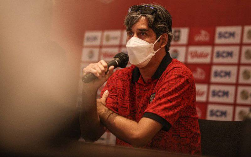 Pelatih Bali United Stefano Cugurra (foto : HO/Baliutd.com)