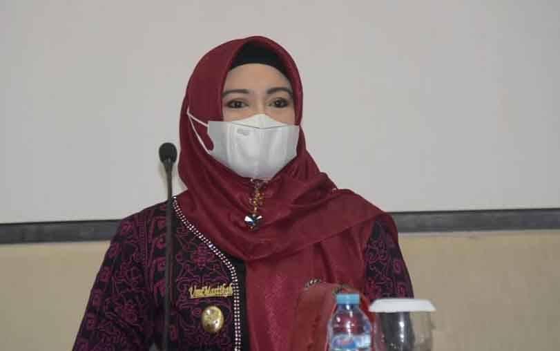 )Wakil Wali Kota Palangka Raya, Umi Mastikah.