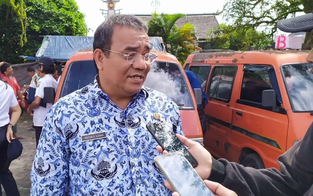 Kepala BPPRD Palangka Raya, Aratuni D Djaban.