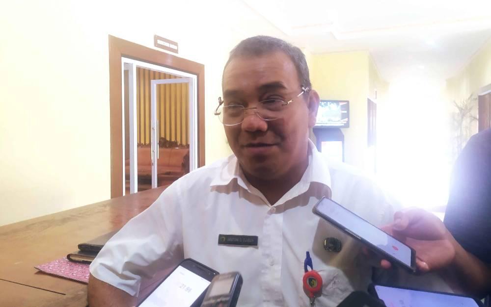 )Kepala BPPRD Palangka Raya, Aratuni D Djaban.