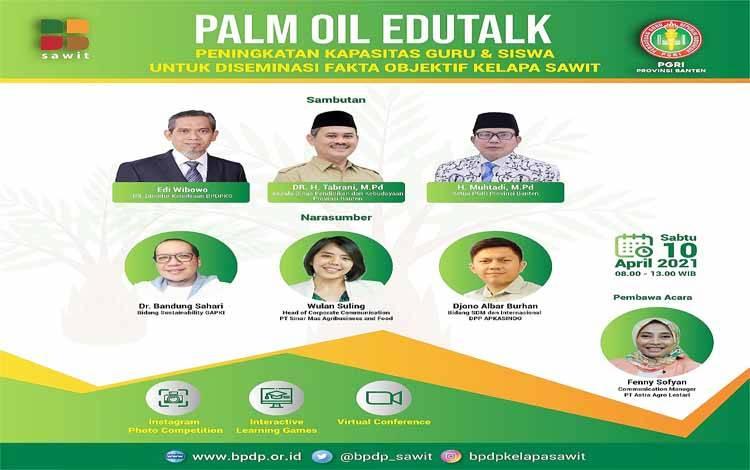 Webinar Palm Oil Edutalk PGRI