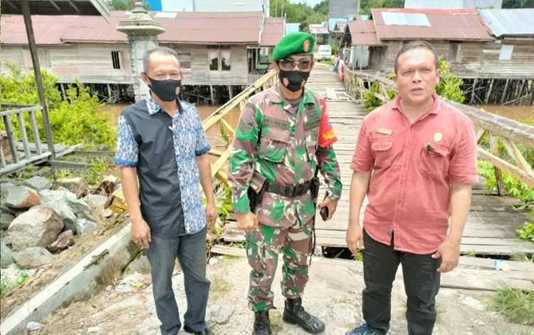 Anggota DPRD Kota Palangka Raya HM Khemal Nasery saat reses di Kecamatan Rakumpit.