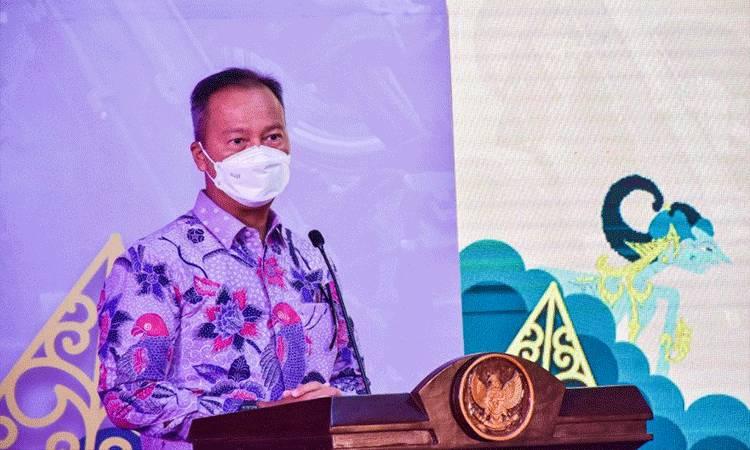 Menteri Perindustrian Agus Gumiwang Kartasasmita (ANTARA/ Biro Humas Kementerian Perindustrian)