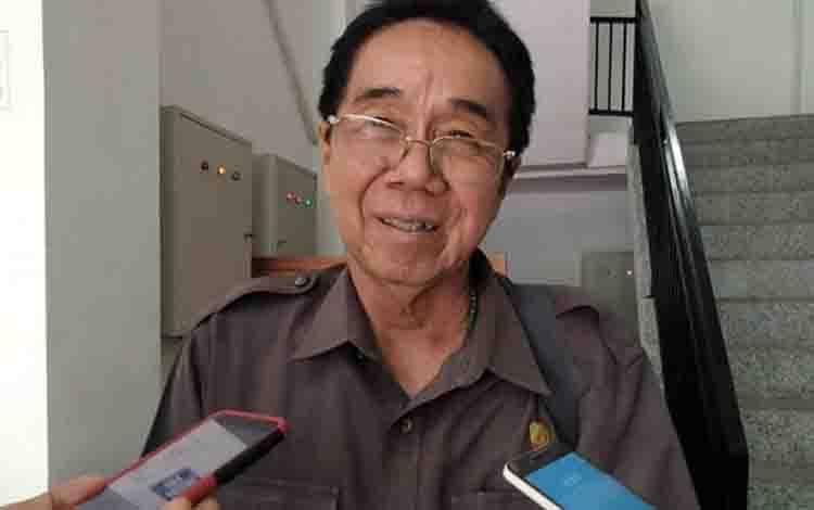 Ketua Komisi III DPRD Kalteng, Duwel Rawing.