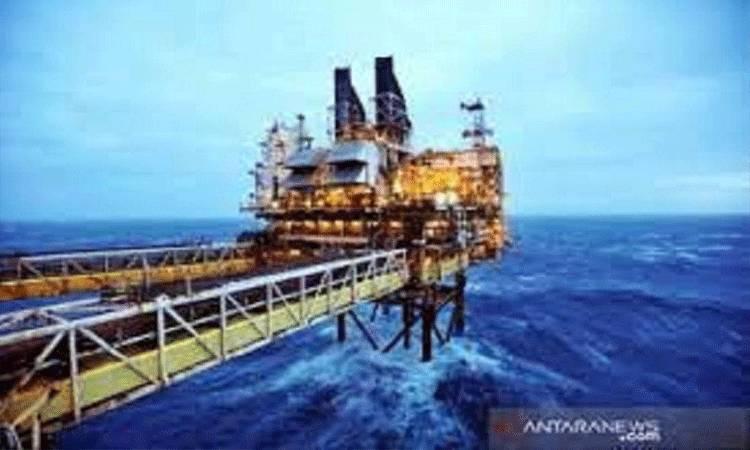 Ilustrasi - Ladang minyak BP Eastern Trough Area Project (ETAP) di Laut Utara, sekitar 100 mill dari Aberdeen Skotlandia. (ANTARA/REUTERS/Andy Buchanan/am.)
