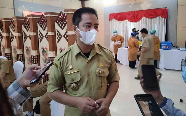 Pelaksana Tugas (Plt) Kepala Dishub Kalteng Yulindra Dedy
