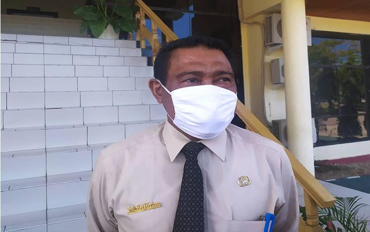 Kepala Dinas Pengendalian Penduduk, Pemberdayaan Perempuan dan KB Kota Palangka Raya, Sahdin Hasan