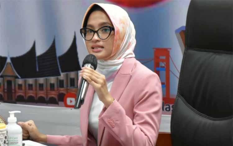Ketua Dewan Kerajinan Nasional Daerah atau Dekranasda Provinsi Kalimantan Tengah, Yulistra Ivo Azhari Sugianto Sabran
