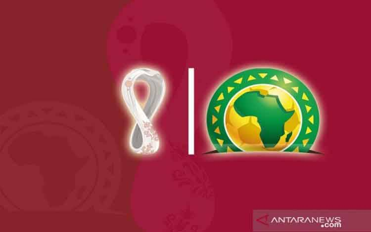 Ilustrasi kualifikasi Piala Dunia 2022 zona Afrika