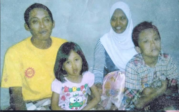 Foto anak-anak almarhumah Hartini