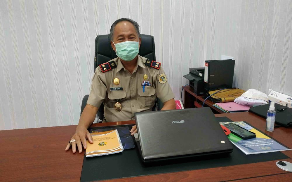 Kepala Kantor Pertanahan Kabupaten Seruyan, Riduan.