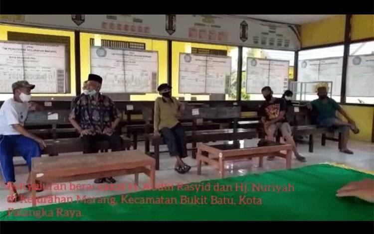 Penyaluran Zakat H Abdul Rasyid AS di Kelurahan Marang.
