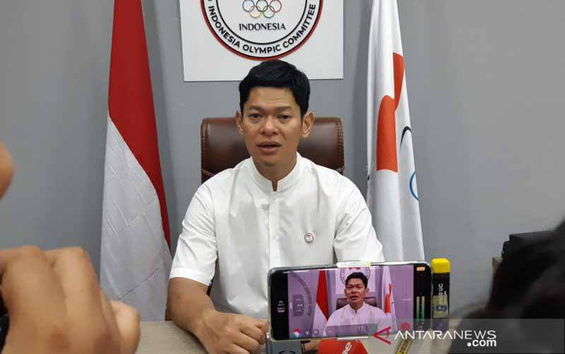Ketua Umum Komite Olimpiade Indonesia (KOI) Raja Sapta Oktohari. (foto : ANTARA/Bayu Kuncahyo)