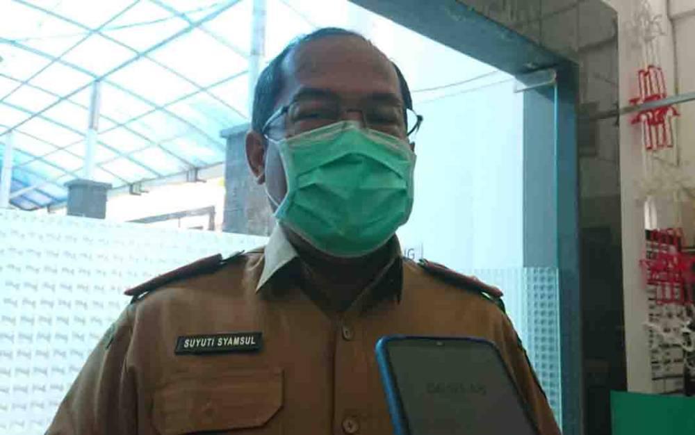 Kepala Dinas Kesehatan Kalteng, Suyuti Syamsul.