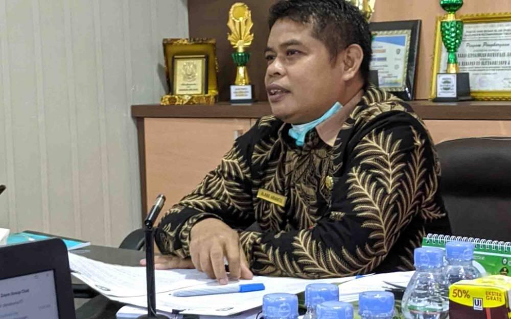 Kepala BKPSDM Kotim, Alang Arianto