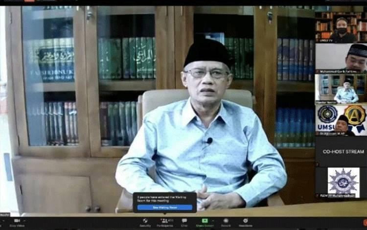 Ketua Umum Pimpinan Pusat Muhammadiyah Prof Dr Haedar Nasir (ANTARA/HO)
