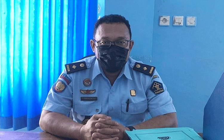Kasubsi Pelayanan Tahanan Rutan Tamiang Layang, FS Simanjuntak