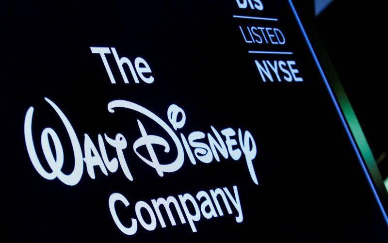 Logo Disney. (foto : REUTERS)