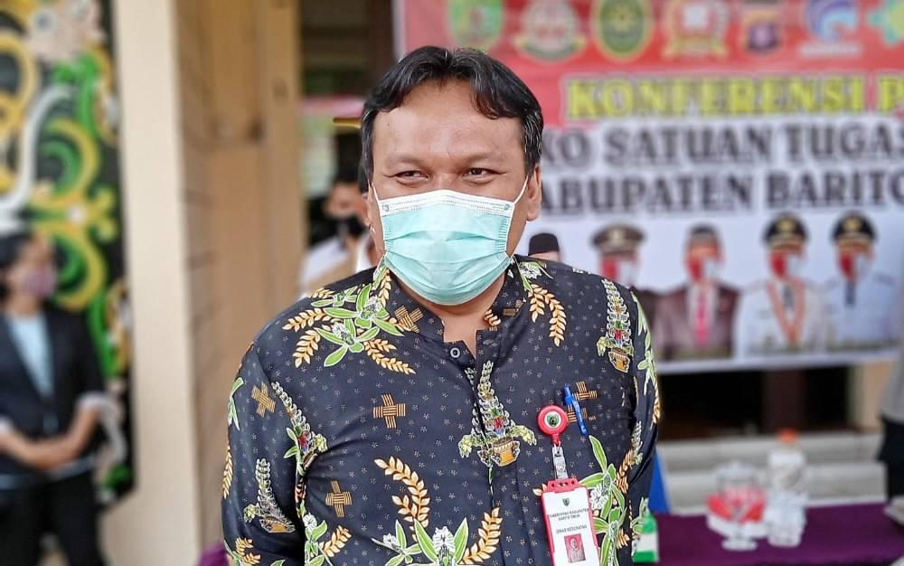 Ketua Bidang Penanganan Kesehatan Satgas Penanganan Covid-19 Barito Timur, Jimmi WS Hutagalung.