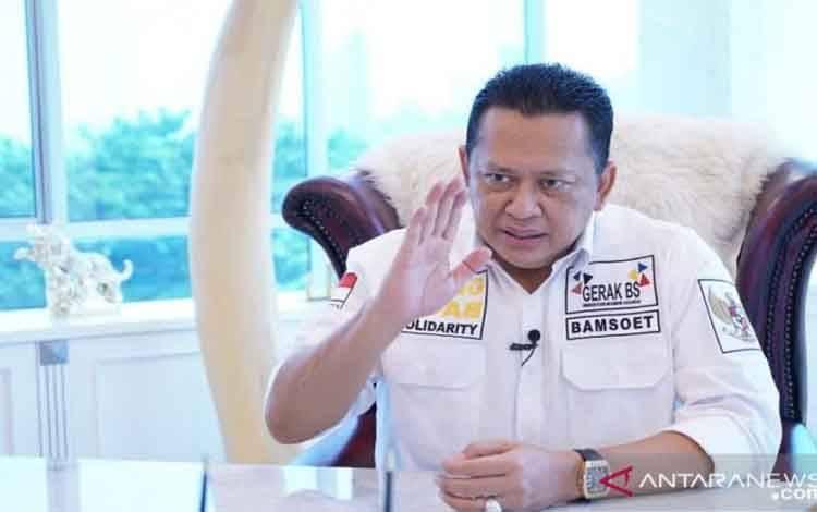 Ketua Majelis Permusyawaratan Rakyat Republik Indonesia (MPR RI) Bambang Soesatyo