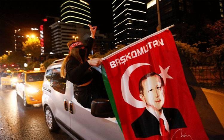 Erdogan Kutuk Kekuatan Barat Karena Tidak Bertindak Lawan Israel