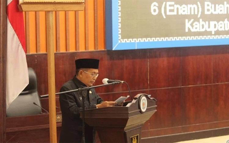 Wakil Bupati Mura Rejikinnor