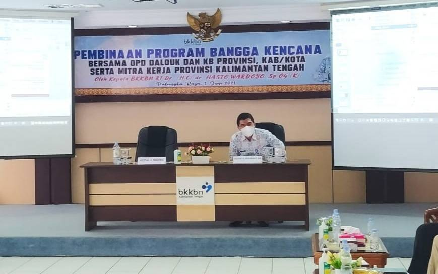 Kepala Perwakilan BKKBN Provinsi Kalteng, Muhammad Irzal.