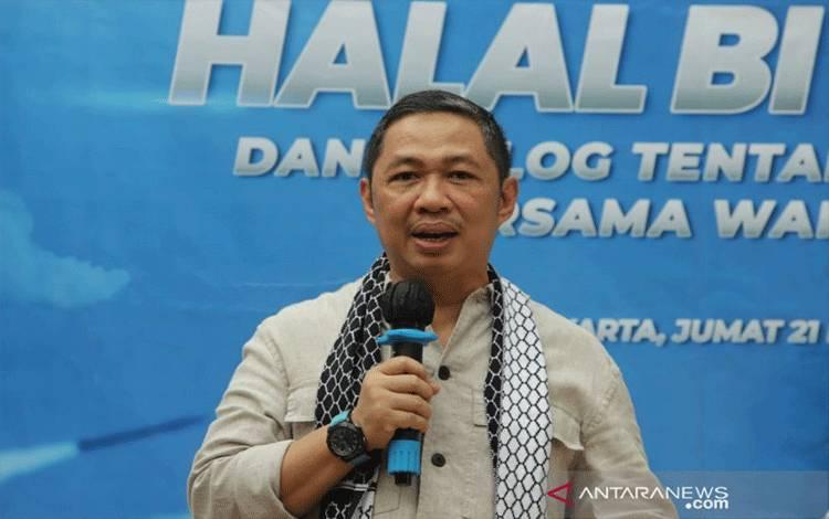 Ketua Umum Partai Gelombang Rakyat (Gelora) Indonesia Anis Matta (ANTARA/HO/Partai Gelora)