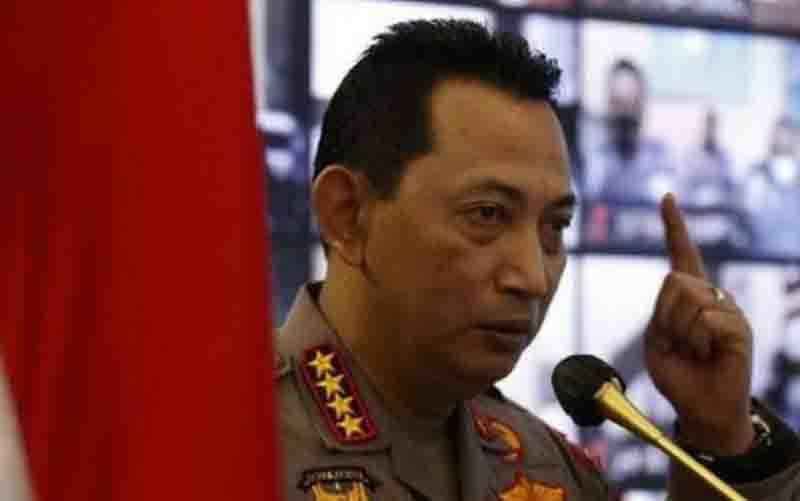Kapolri Jenderal Pol Listyo Sigit Prabowo. (foto : ANTARA/HO-Divisi Humas Polri)