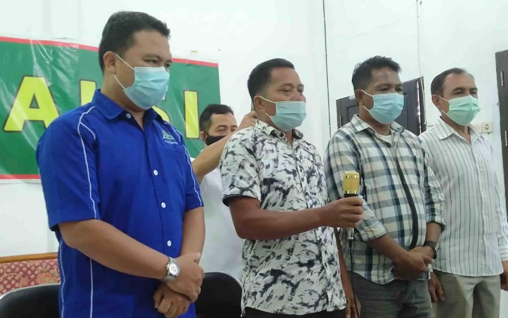 Saksi dalam sidang kasus penggelapan dengan terdakwa Gustap Jaya