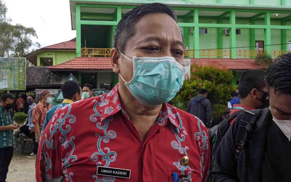 Plt Kepala Dinas Kesehatan Kotim, Umar Kaderi