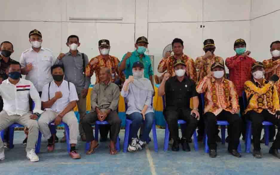 Anggota DPRD Kobar Dapil II lakukan reses ke desa di wilayah Kecamatan Arut Selatan