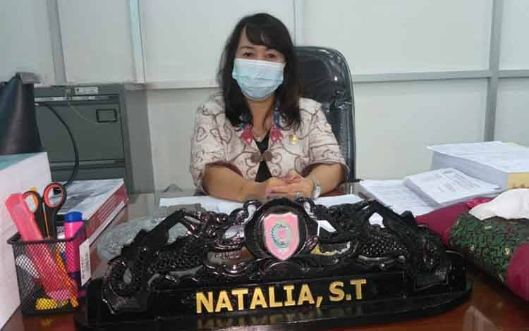 Anggota DPRD Kalteng, Natalia.
