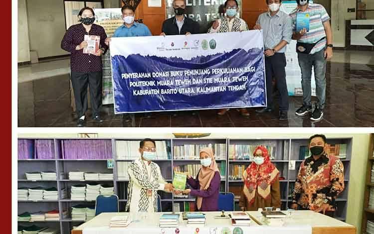 Dua Perguruan Tinggi di Barito Utara Dapat Bantuan Buku Bacaan