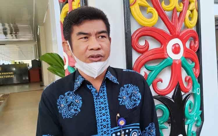 Pelaksana Tugas (Plt) Kepala Diskominfosantik Kalteng, Agus Siswadi.
