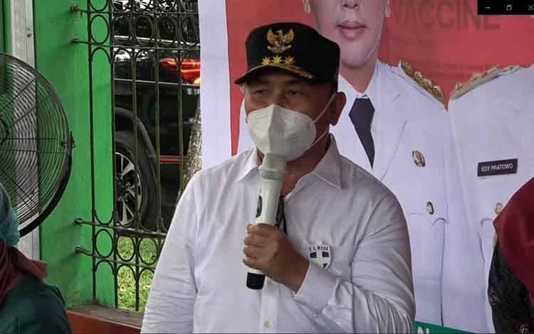 Gubernur Kalteng H Sugianto Sabran