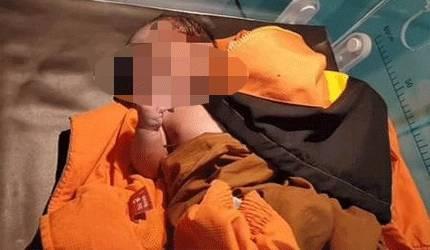 Bayi berjenis kelamin laki-laki yang ditemukan saat dirawat di RSUD jaraga sasameh Buntok.
