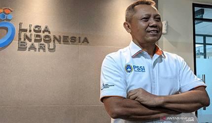 Direktur Operasional PT Liga Indonesia Baru (LIB) Sudjarno. (Michael Siahaan)