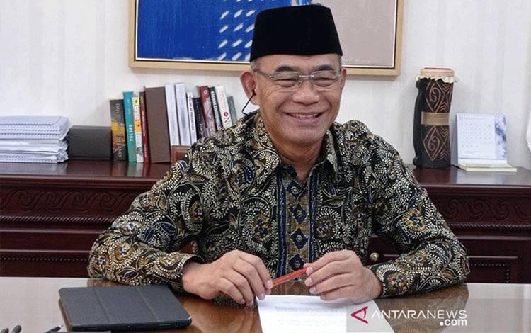 Menteri Koordinator Bidang Pembangunan Manusia dan Kebudayaan (Menko PMK) Muhadjir Effendy. ANTARA/HO-Kemenko PMK/am.