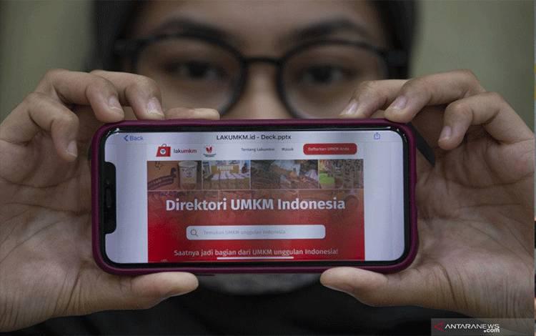 Ilustrasi penerapan teknologi informatika pada program kerja pemerintah. ANTARA FOTO/Aditya P Putra