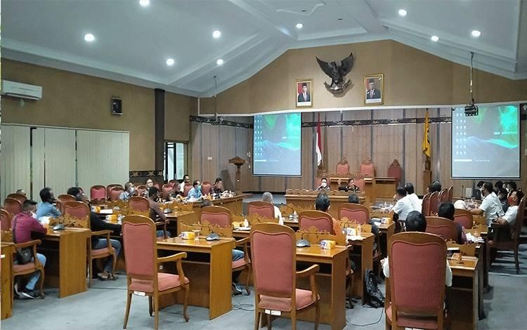Suasana kantor DPRD Kotawaringin Timur.