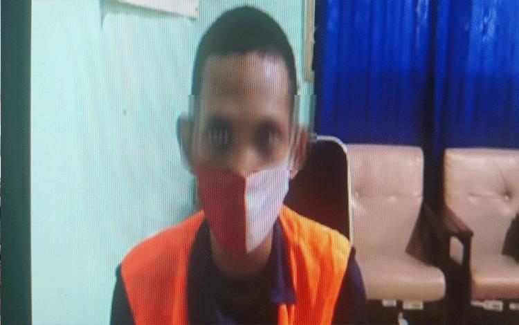 Muslim Alamsyah alias Kacong tersangka kasus pencurian.