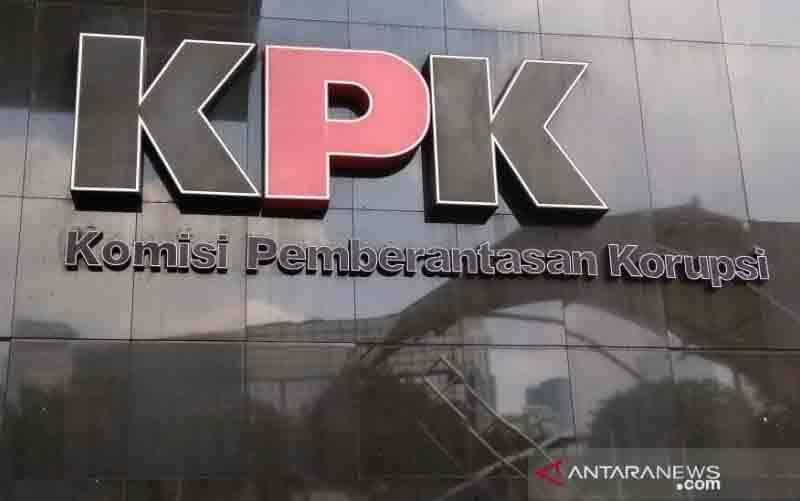 Logo KPK. (foto : Antara/Benardy Ferdiansyah)