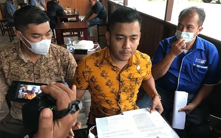 Angga D Saputra selaku Kuasa hukum dari pihak PT Bandangantirta Agung.