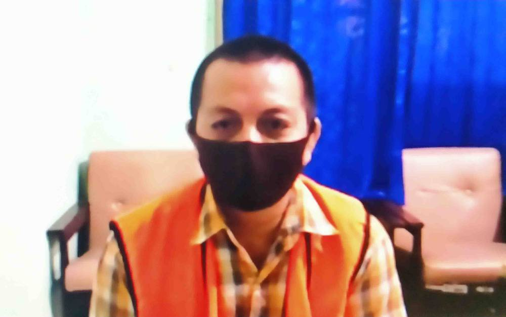Ebok terdakwa kasus pencurian pupuk.