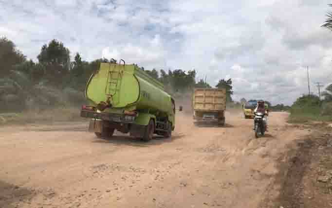 Jalan Lingkar Selatan Kota Sampit, Kabupaten Kotawaringin Timur