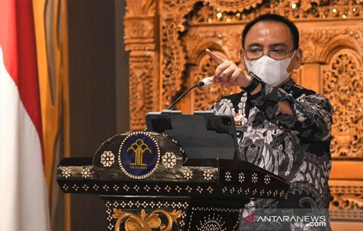Sekretaris Jenderal (Sekjen) Kemenkumham Komjen Pol Andap Budhi Revianto. (ANTARA/HO-Humas Kemenkumham)